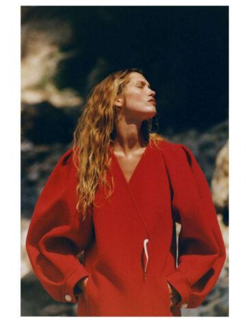 Hana Jirickova Vogue Magazine France October
