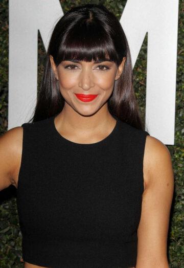 Hannah Simone Michael Kors Launch Claiborne Swanson Franks Young Hollywood