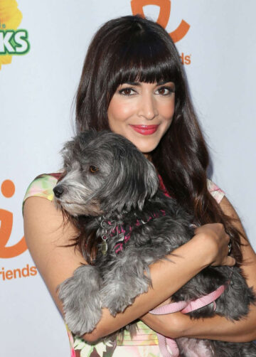 Hannah Simone Muddy Puppies Video Premiere Party West Hollywood