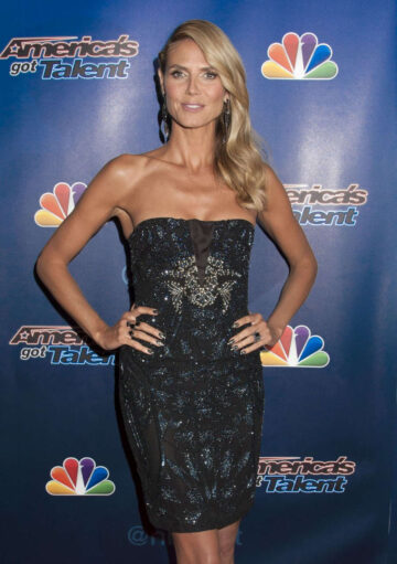 Heidi Klum Americas Got Talent Season 9 Post Show Red Carpet