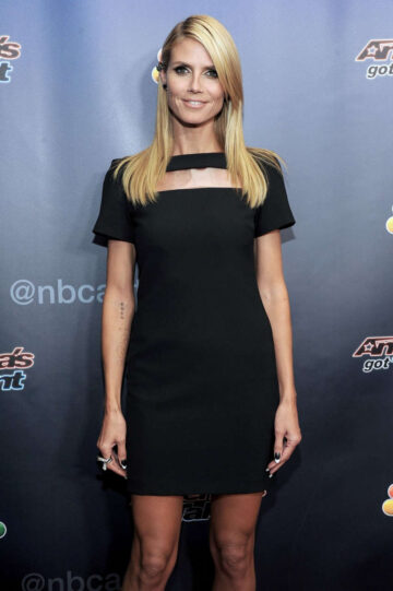 Heidi Klum Americas Got Talent Season 9 Post Show Red Carpet New York