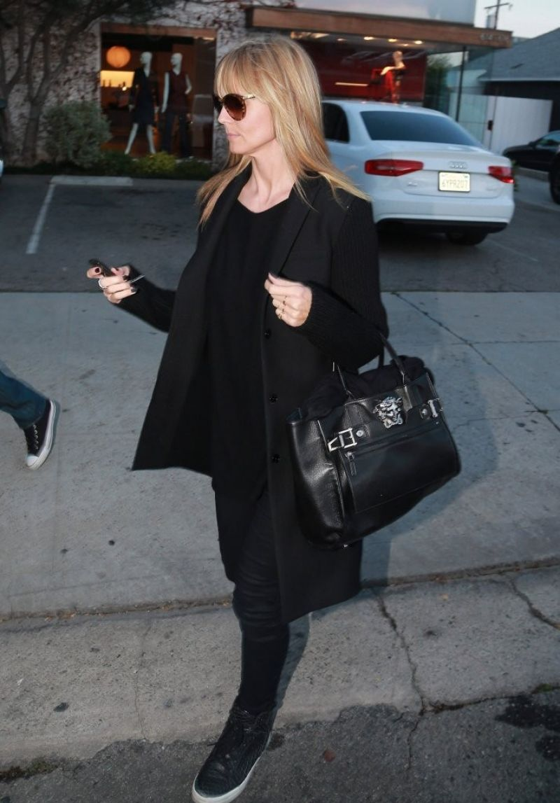 Heidi Klum Out About West Hollywood