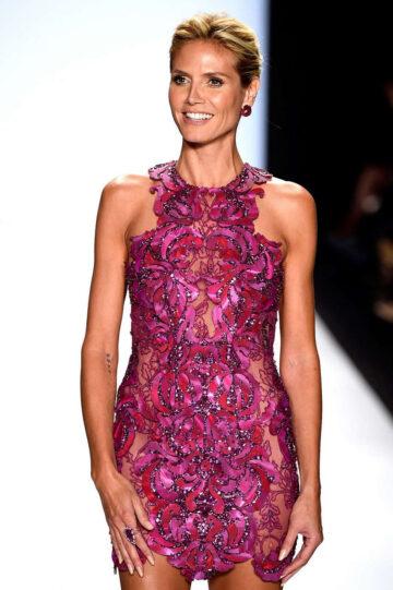 Heidi Klum Project Runway Fashion Show New York