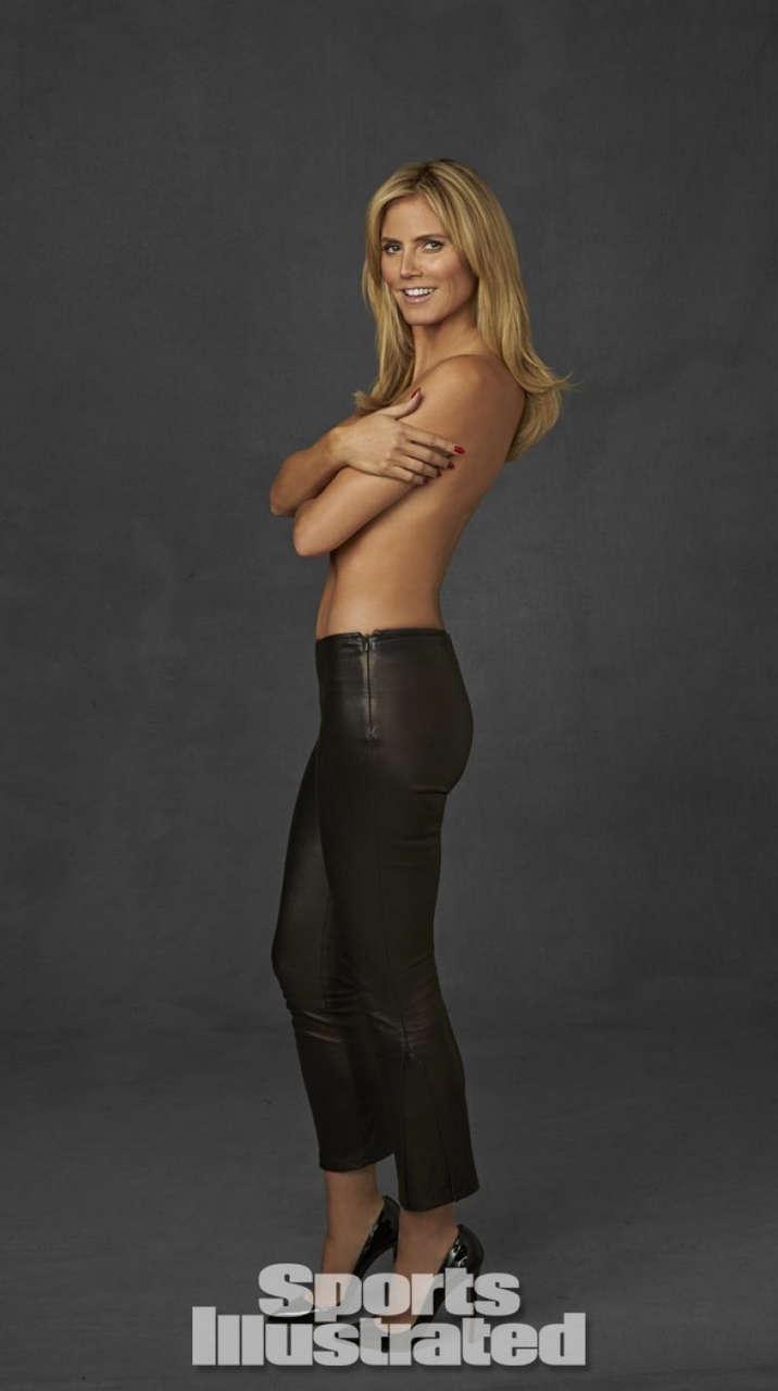 Heidi Klum Si Swimsuit Legends