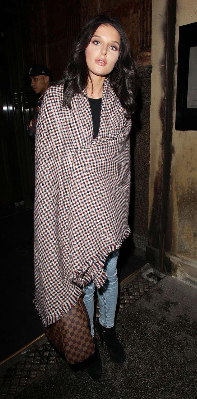 Helen Flanagan Night Out Manchester