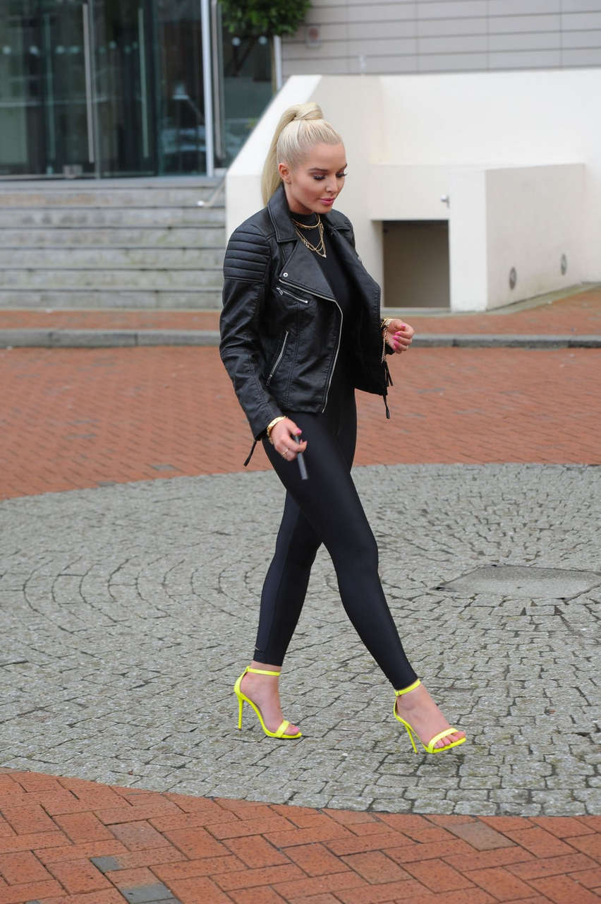 Helen Flanagan Promotes New Electronic Cigarette Manchester
