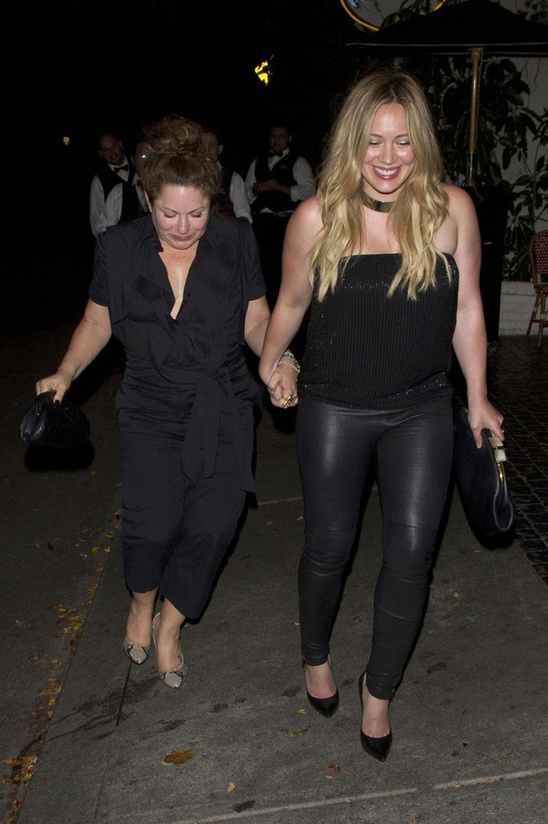 Hilary Duff Leaving Chateau Marmont West Hollywood