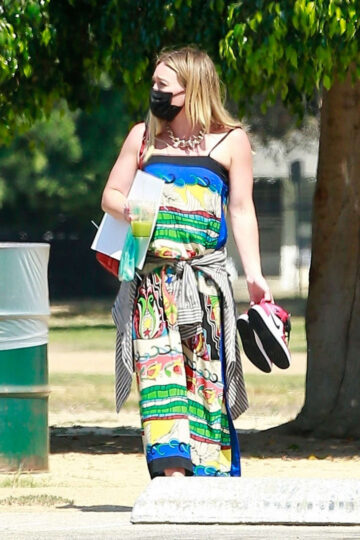Hilary Duff Local Park Los Angels