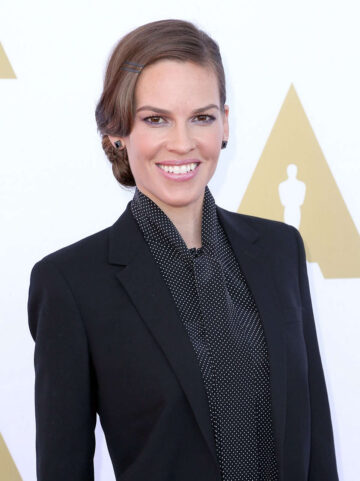 Hilary Swank Ampas Hollywood Costume Luncheon