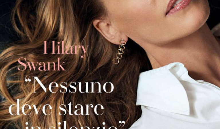 Hilary Swank Io Donna Del Corriere Della Sera August (4 photos)
