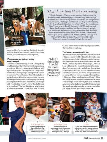 Hilary Swank People Magazine September
