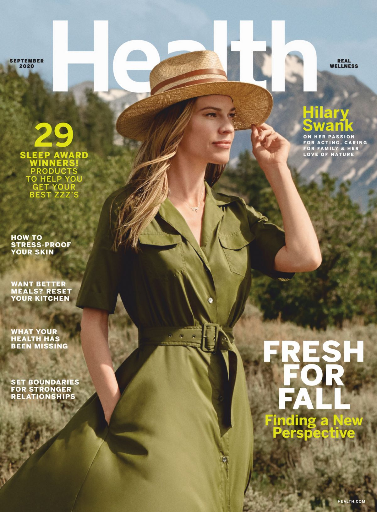 Hilary Swank Sealth Magazine September