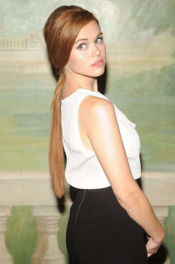 Holland Roden Alice Olivia By Stacey Bendet Fashion Show New York