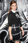 Holland Roden Alice Olivia Fall 2014 Fashion Show New York
