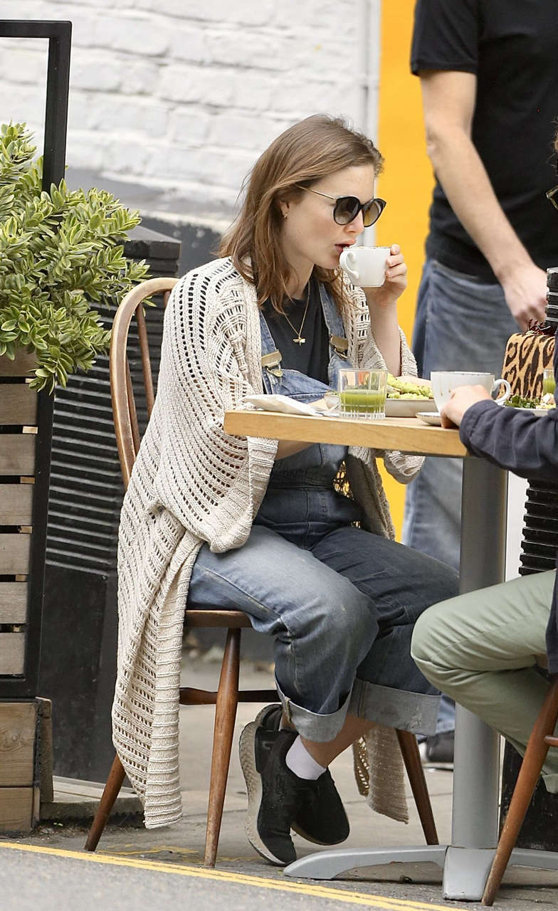 Holliday Grainger Out London