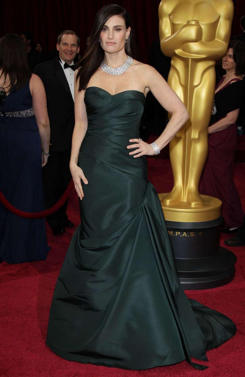 Idina Menzel 86th Annual Academy Awards Hollywood