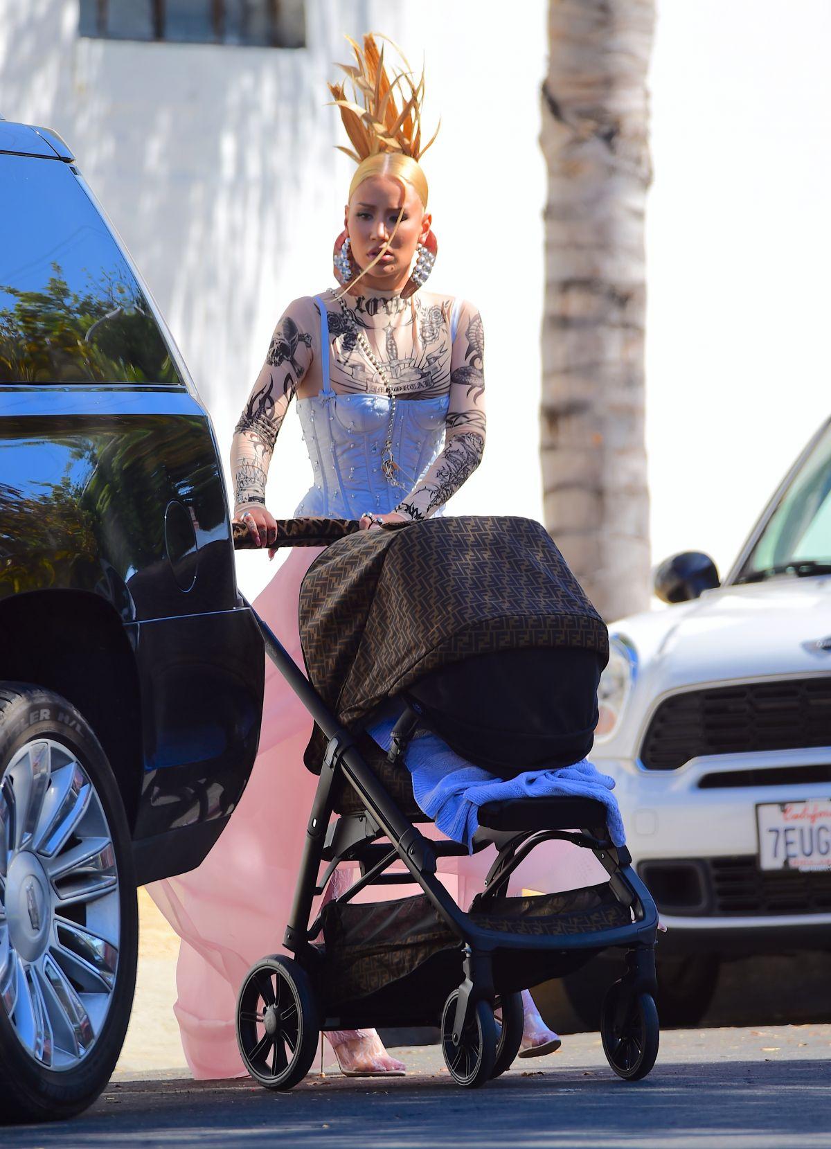 Iggy Azalea Leaves Photoshoot Los Angeles