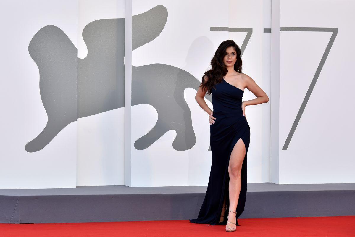 Ines Trocchia Nomadland Premiere 77th Venice Film Festival