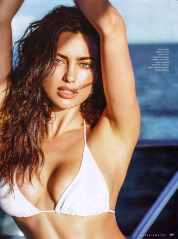 Irina Shayk Maxim Magazine Australia Sep 2014 Issue