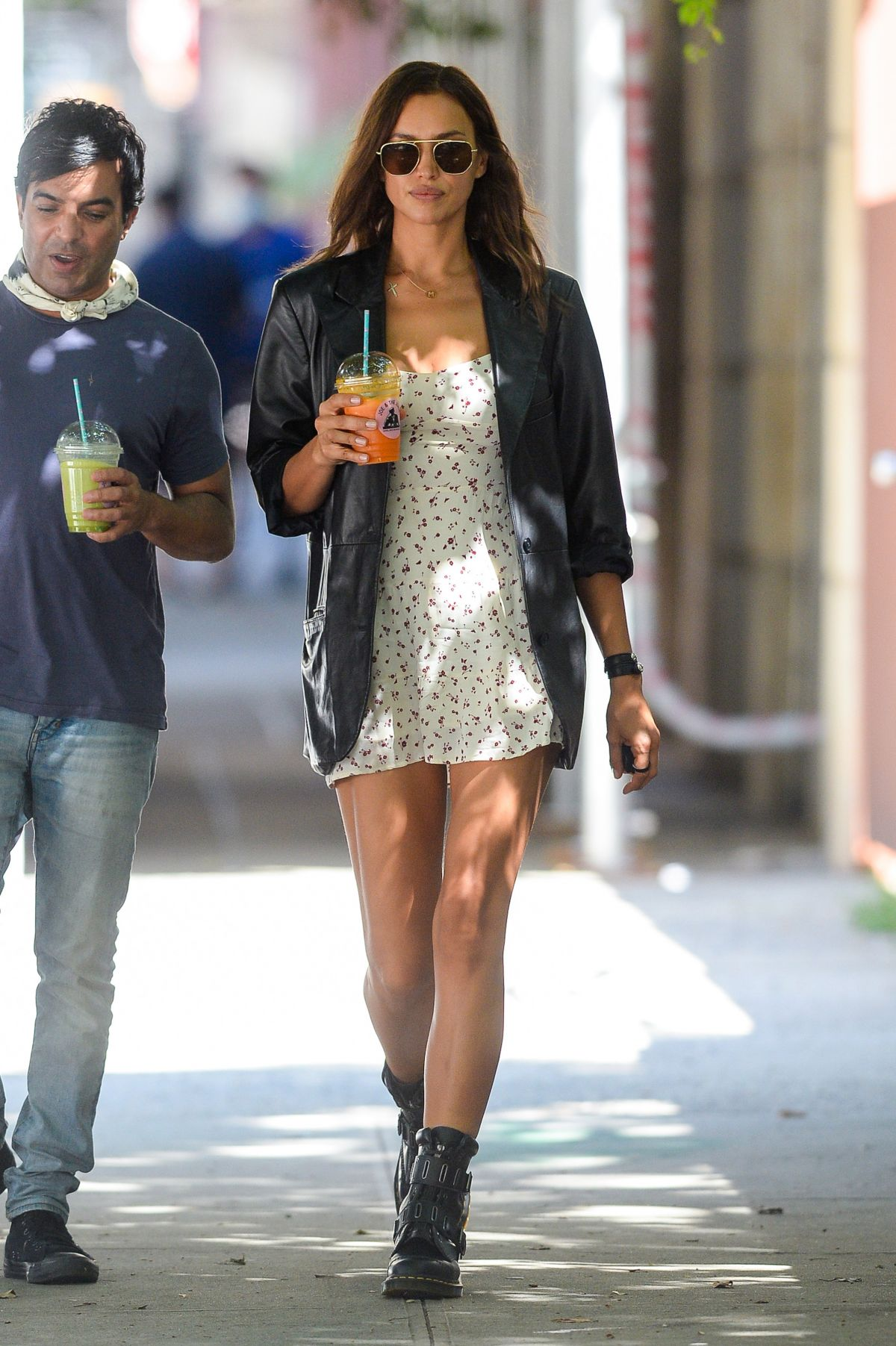 Irina Shayk Out About New York
