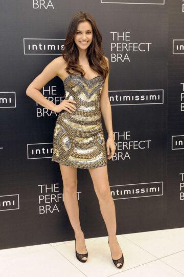 Irina Shayk Perfect Bra By Intimissimi Promotion Madrid