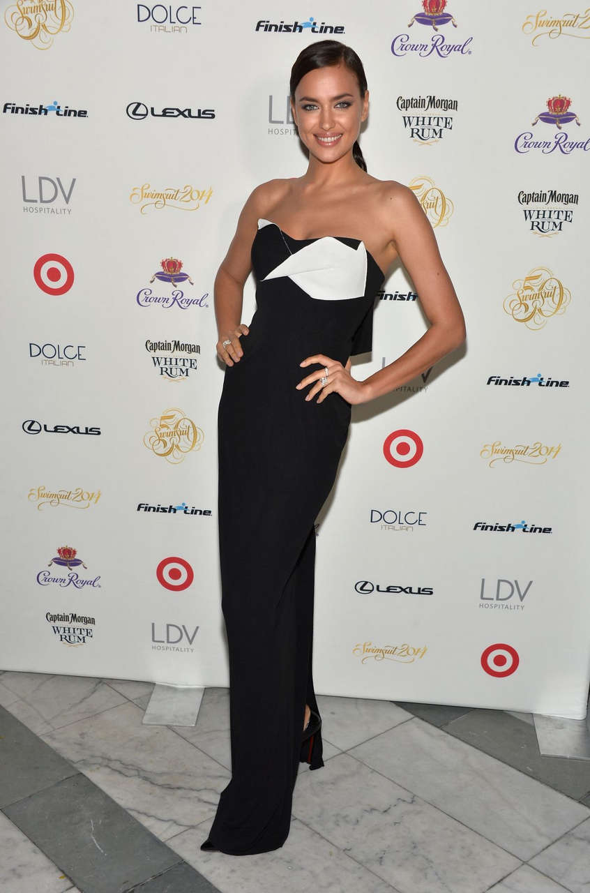 Irina Shayk Sports Illustrated Swimsuit South Beach Soiree Miami