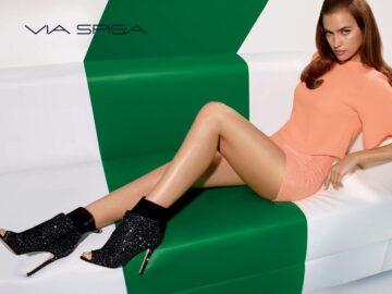 Irina Shayk Via Spiga 2014 Fall Campaign