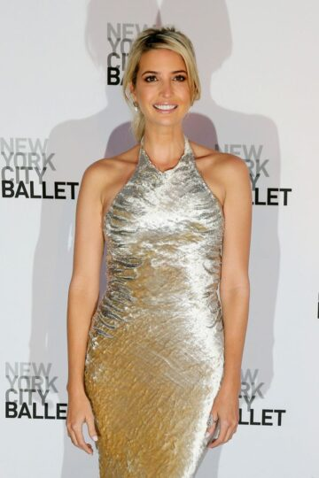 Ivanka Trump New York Ballet 2014 Fall Gala Lincoln Center