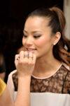 Jamie Chung Get Glam Fashion Week Lounge Event