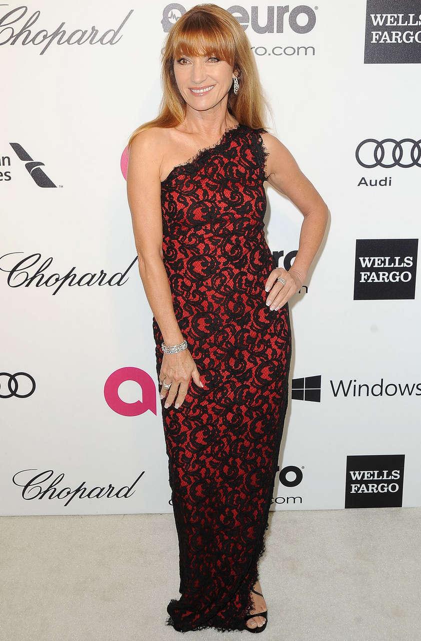 Jane Seymour Elton John Aids Foundation Oscar Party Los Angeles