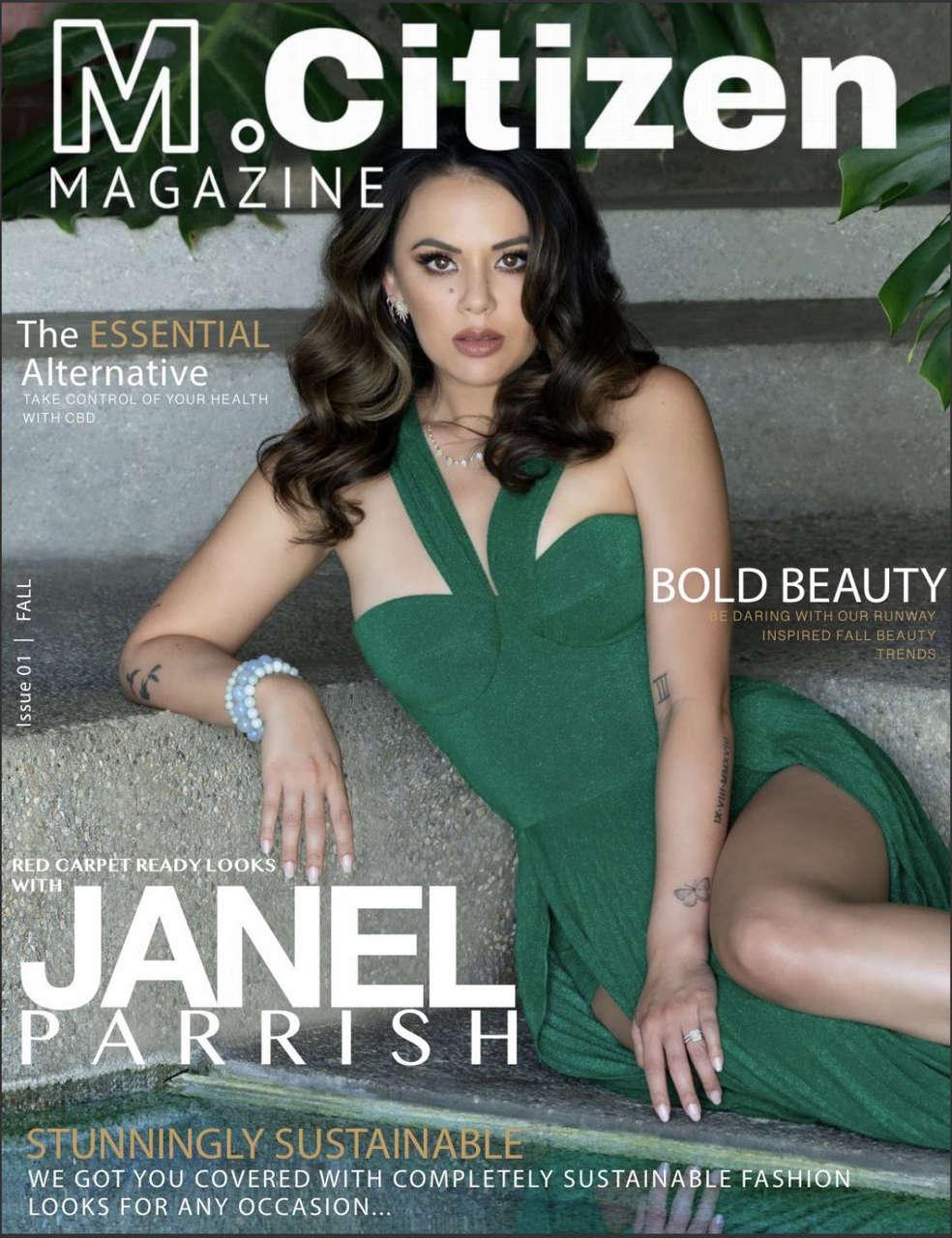 Janel Parrish M Citizen Magazine Fall