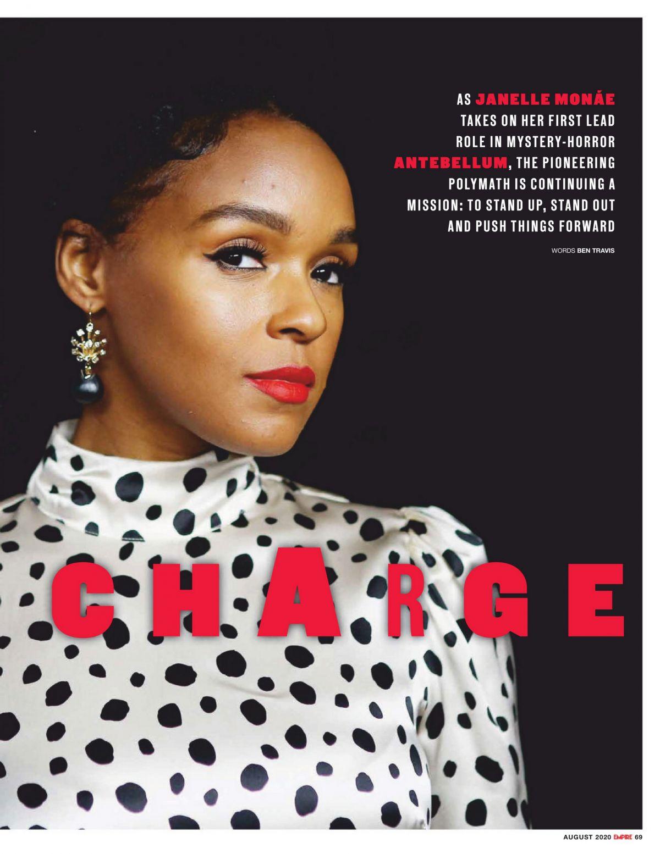 Janelle Monae Empire Magazine Australia August