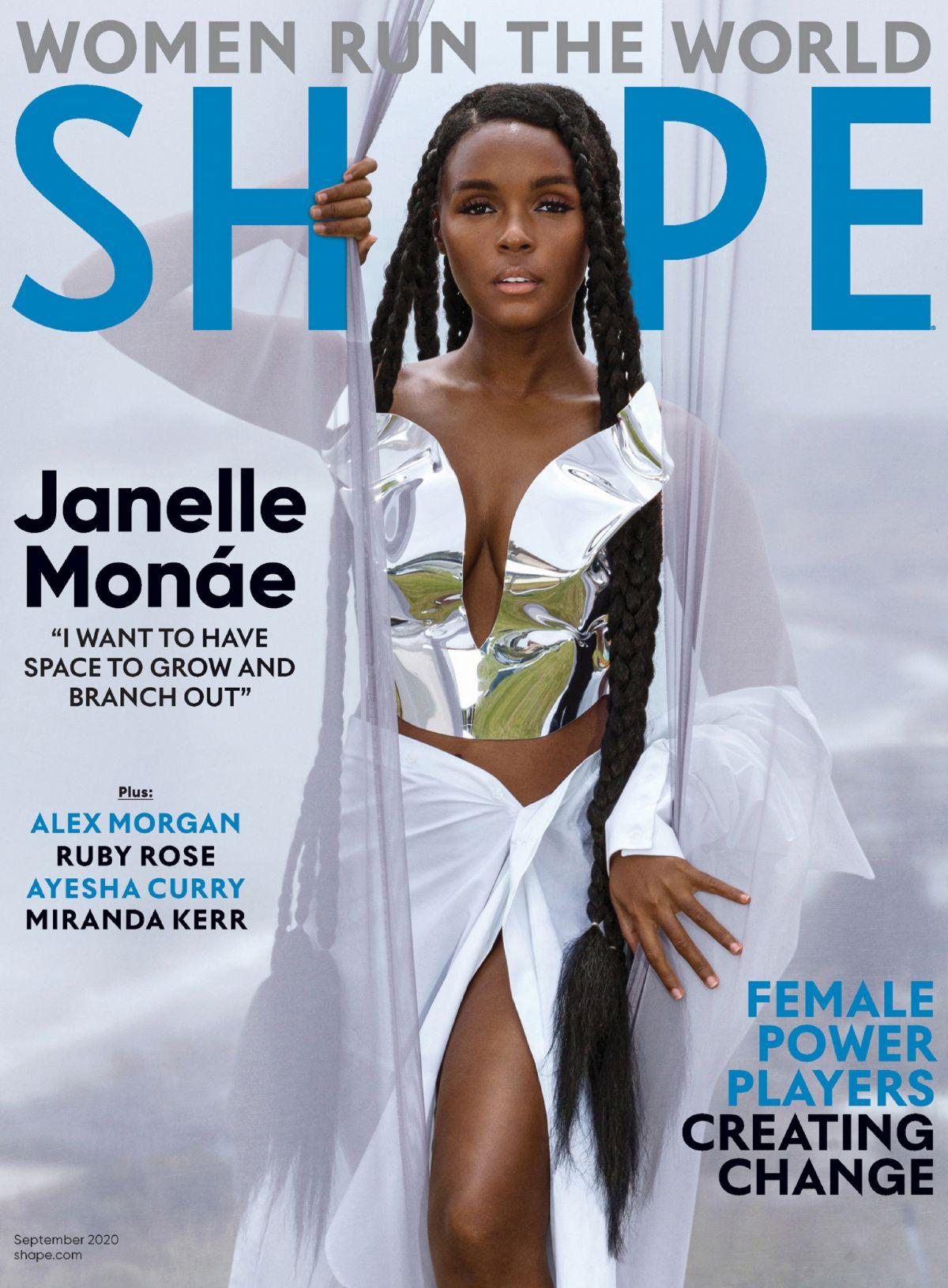 Janelle Monae Shape Magazine September