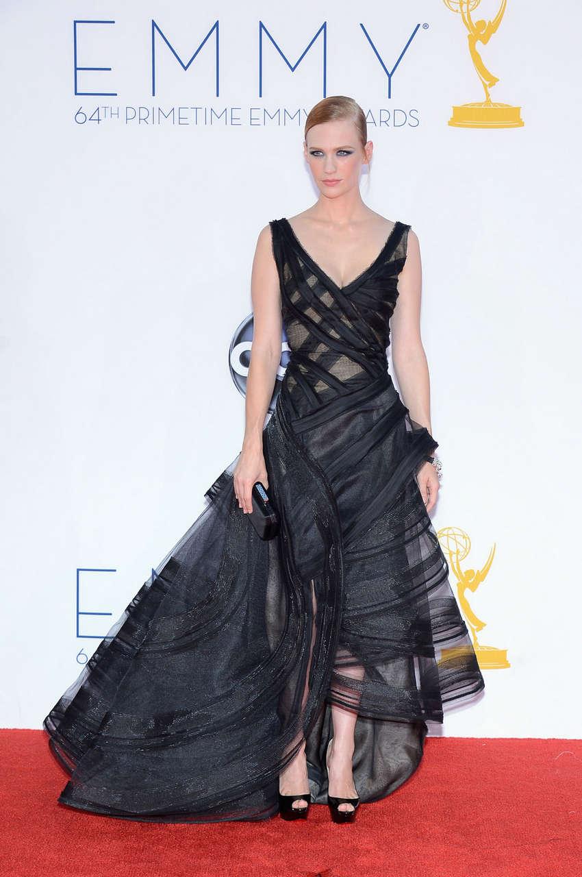 January Jones 64th Primetime Emmy Awards Los Angeles