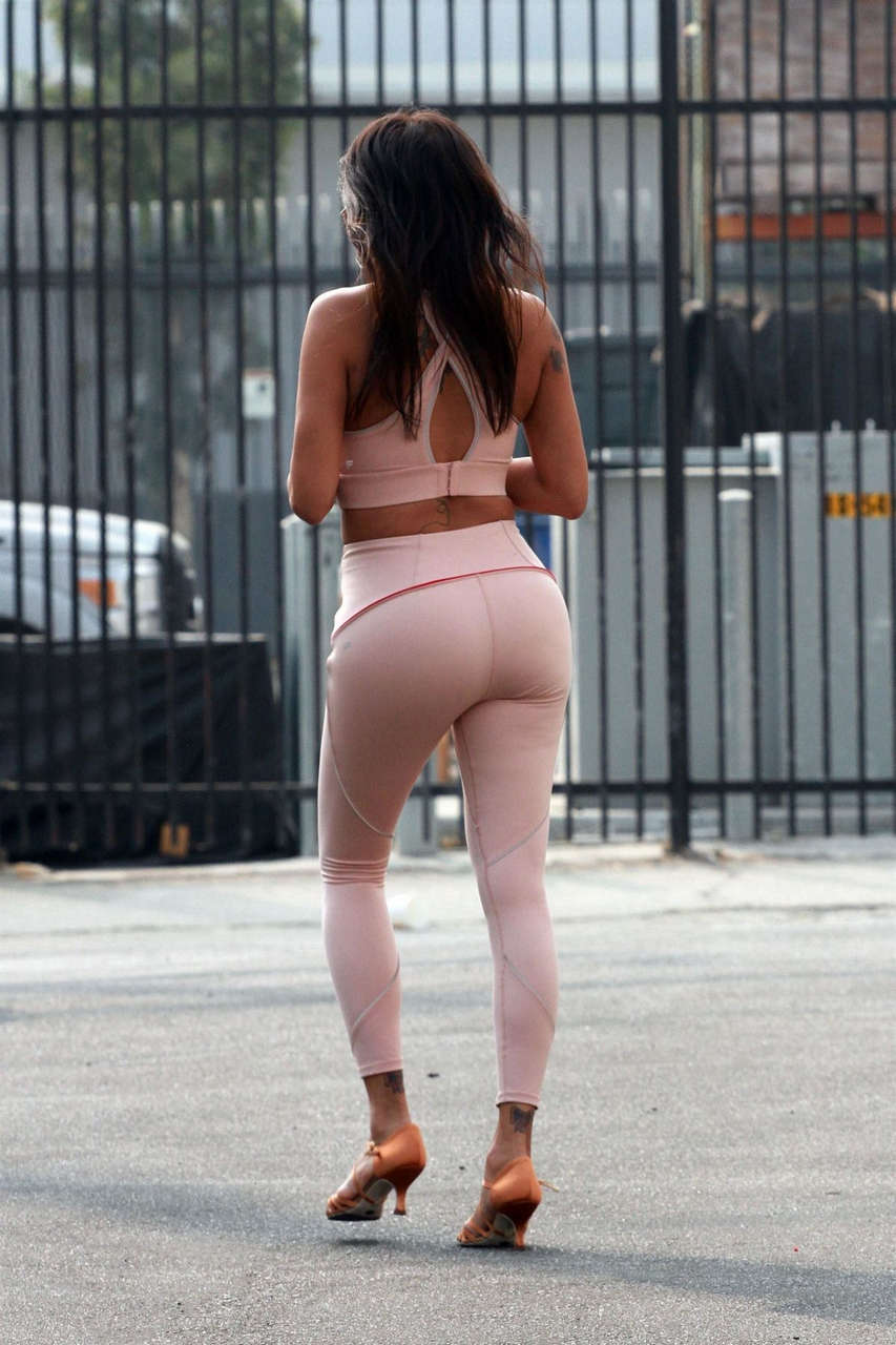 Jeannie Mai Arrives Dwts Studio Los Angeles