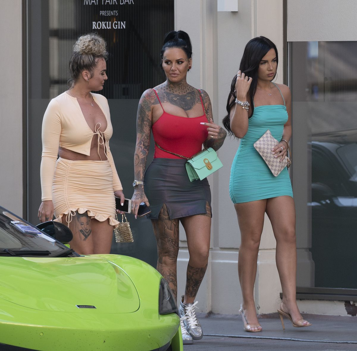 Jemma Lucy Out With Friends London