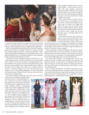 Jenna Louise Coleman For Tatler Magazine October