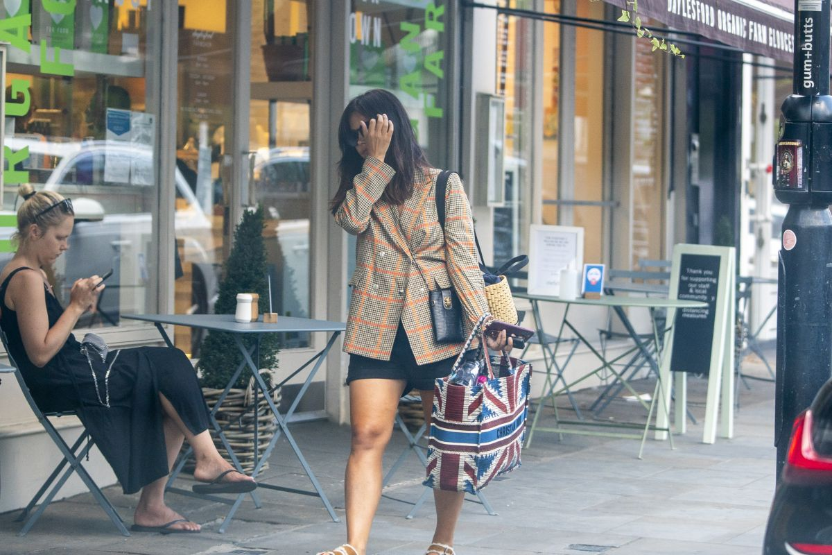 Jenna Louise Coleman Out Notting Hill