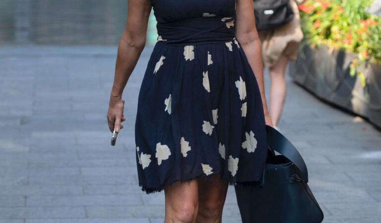 Jenni Falconer Arrives Global Radio London (16 photos)