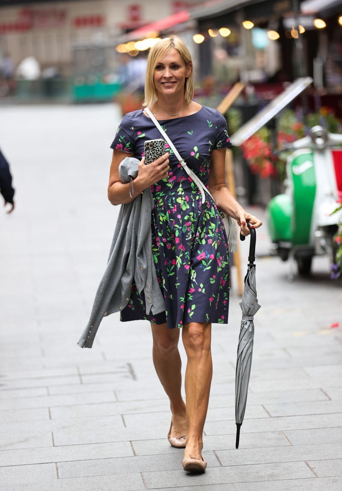 Jenni Falconer Arrives Smooth Radio London