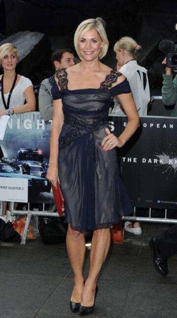 Jenni Falconer Dark Knight Rises Premiere London