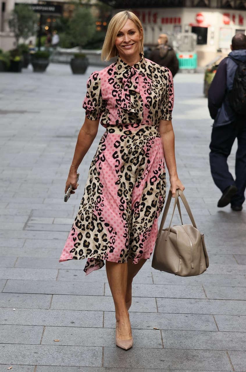 Jenni Falconer Out About London