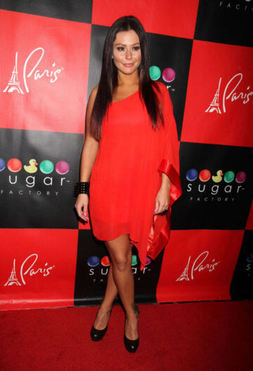 Jenni Jwoww Farley Celebrates 26th Birthday Sugar Factory Las Vegas
