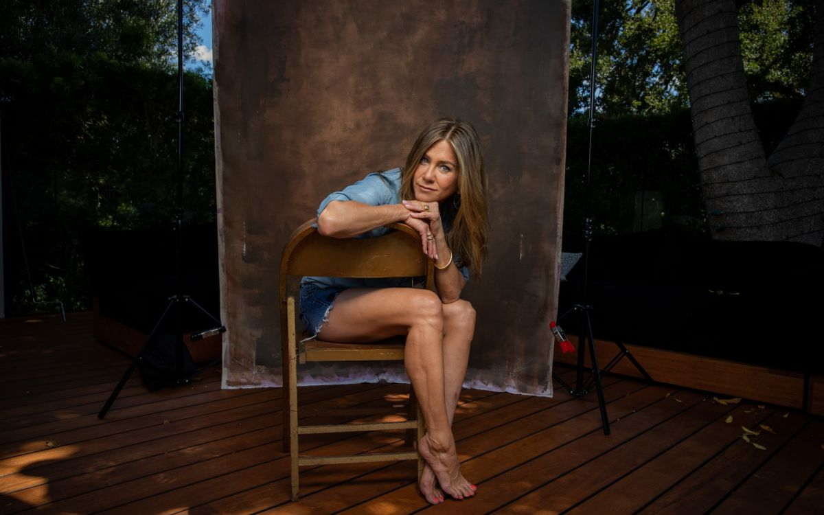 Jennifer Aniston For Los Angeles Times August