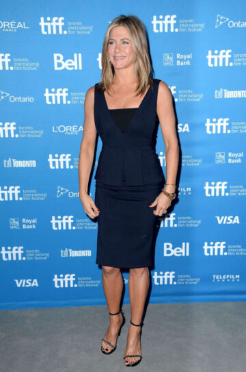 Jennifer Aniston Imitation Game Press Conference Toronto