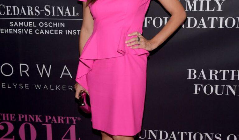 Jennifer Garner 10th Anniversary Pink Party Santa Monica (30 photos)