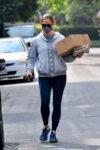 Jennifer Garner Leaves Post Office Brentwood