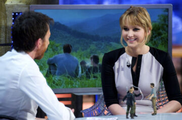 Jennifer Lawrence El Hormiguero Show Madrid