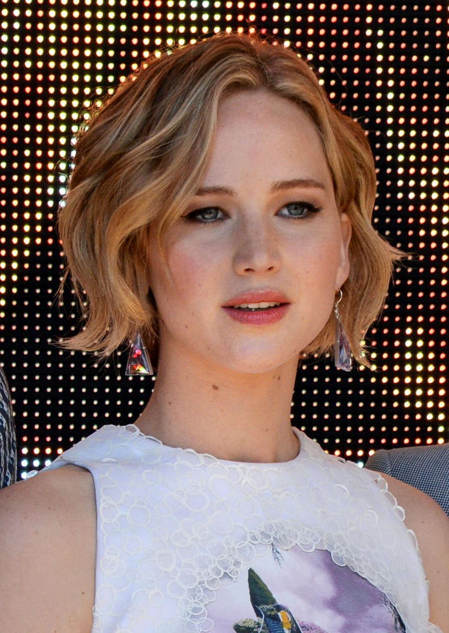 Jennifer Lawrence Hunger Games Mockingjay Part 1 Photocall Cannes