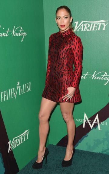 Jennifer Lopez 2014 Variety Power Women Beverly Hills